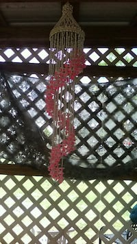 brown and pink beaded wind chime Punta Gorda, 33982
