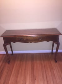 rectangular brown wooden side table Oxon Hill, 20745
