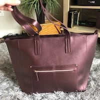 Burgundy tote bag Fairfax, 22033