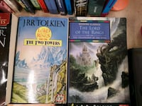 Lord of the rings books one and two Winnipeg