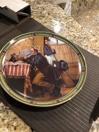 Collectible Norman Rockwell plate