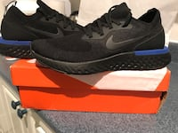 pair of black Nike running shoes Montréal, H4A 3E6