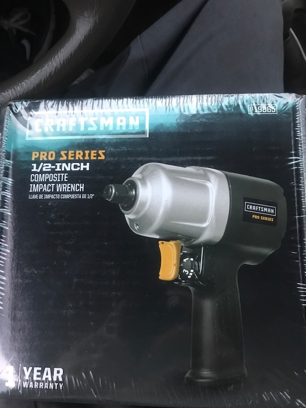 Used Black And Gray Craftsman Cordless Impact Wrench Box For In Fort Worth Letgo