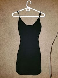 Black adjustable strap dress Mississauga, L5W 1K2