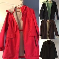 red and gray zip up jacket Richmond Hill, L4E 0R5