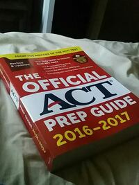 the Official ACT prep guide textbook Blountville, 37617