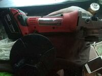 red and black corded angle grinder Vancouver, V6A 1G6