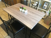 Dining Table & 4 Chairs Carson, 90745