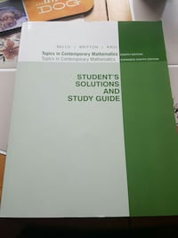 student's solutions and study guide book Bridgewater, 02324