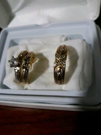 wedding rings  her and him # 8 for him #10  14k Alexandria, 22302