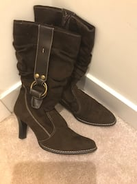 Women's brown boots size 7.5,like new  Hamilton, L8J 0H8