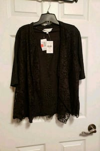 Knit top and cover up combo. Size Xl