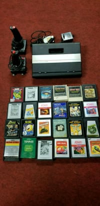 Atari 7800 with great classics 541 km