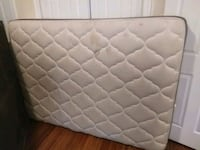 Double size Mattress & bedspring  Montreal, H2V 4B8
