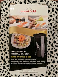 Brand New Vegetable Spiral Slicer