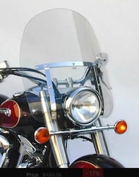 Motorcycle Windshield (Tinted)