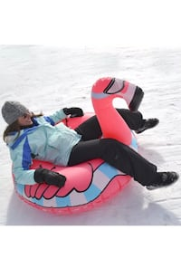Used flamingo snow tube Huntington Beach, 92647