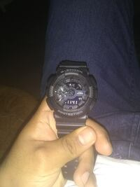 round black Casio G-Shock chronograph watch with b Kennett Square, 19348