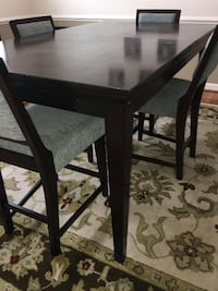 Dining room table with chairs WOODBRIDGE