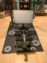 Body champ weight set with plates Baltimore, 21222