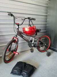 """Brand new boys 18"""" bike with helmet and pads Fort Smith, 72916"""
