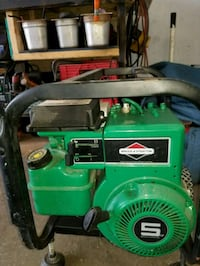 green and black portable generator Uniontown, 44685