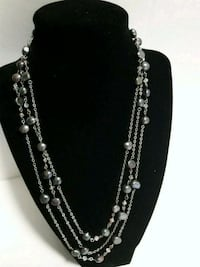 Handmade Necklace with Freshwater Pearl  2292 mi