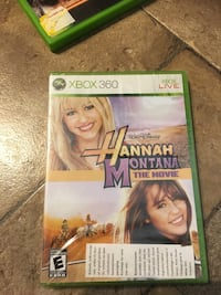 X Box 360 Hannah Montana the Movie sealed new Collectable video game  Oshawa, L1H 6P6