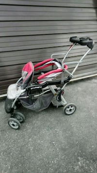 Baby trend sit n stand lx double stroller  Whitby, L1P 1C4