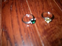 +++Swarovski Jewelry - Pair of Rings+++ - $8 Boston