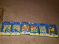 Nickelodeon 6 piece Rugrats collectibles from 1998 Saint Charles, 63303