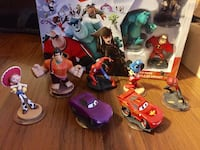Wii Disney Infinity Starter Pack with Extras Ajax, L1T 1V1
