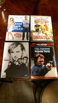 Movies! 5 for all Aurora, L4G 4X4