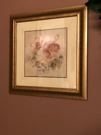 Two Pink and white petaled flower painting Danbury, 06810