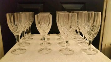 Crystal glassware set