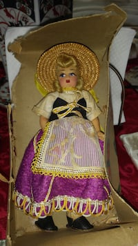 ANTIQUE..RARE...DOLL..MADE IN ITALY