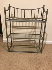 Metal & Glass Shelf
