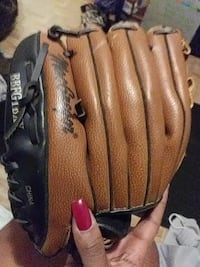 brown and black leather baseball mitt Portsmouth, 23704