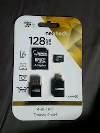 128 GB Nextech 4 in 1 kit pack Grande Prairie, T8V 1K2