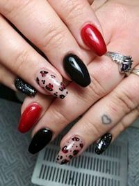 Beautiful Sculptured Gel Nails Edmonton