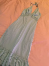 Baby blue halter-neck dress Lethbridge, T1H 4A4