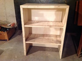 Vintage Small wood bookcase