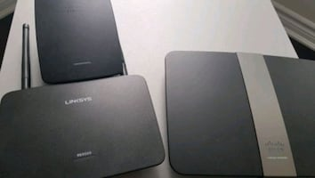 Linksys Router, Extender, Range Extender(model # in pics)