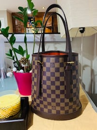 Authentic LV Marais Bucket Damier Ebene PM Burnaby, V3J 1A4