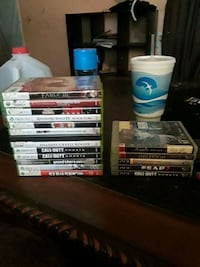 Xbox 360 and PS3 games Indianapolis, 46237