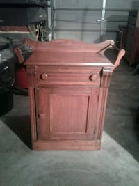 brown wooden cabinet with drawer Hagerstown