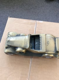 Brass vintage coupe die-cast model Youngstown, 44512