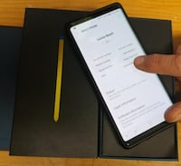 Samsung Galaxy Note 9 (Factory Unlocked) - Comes w/ Box + Accessories & 1 Month Warranty Springfield, 22150