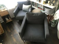 Two Mellby Armchairs / Club Chairs (Ikea) Toronto, M4Y 0A3