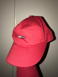 red and black fitted cap Victoria, V8R 3L8